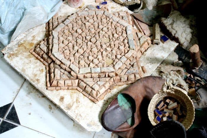 Zellige Tiles Marrakech