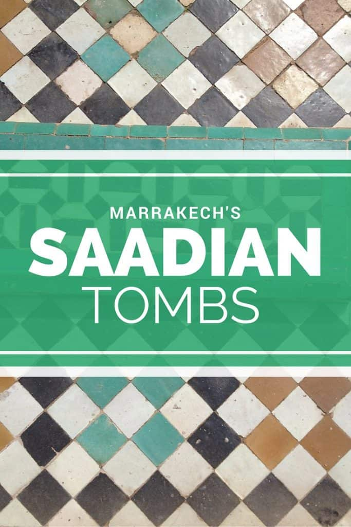 Should you visit the Saadian Tombs in Marrakech? | www.marocmama.com