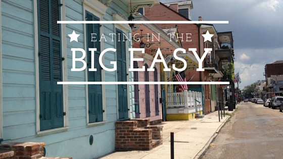 eating in the big easy