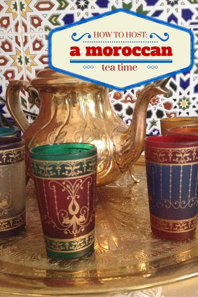 """Every late afternoon Moroccans slow down and take part in """"coffee time"""". It's where women especially gather and share with friends. Make this part of your routine or a special way to celebrate!"""