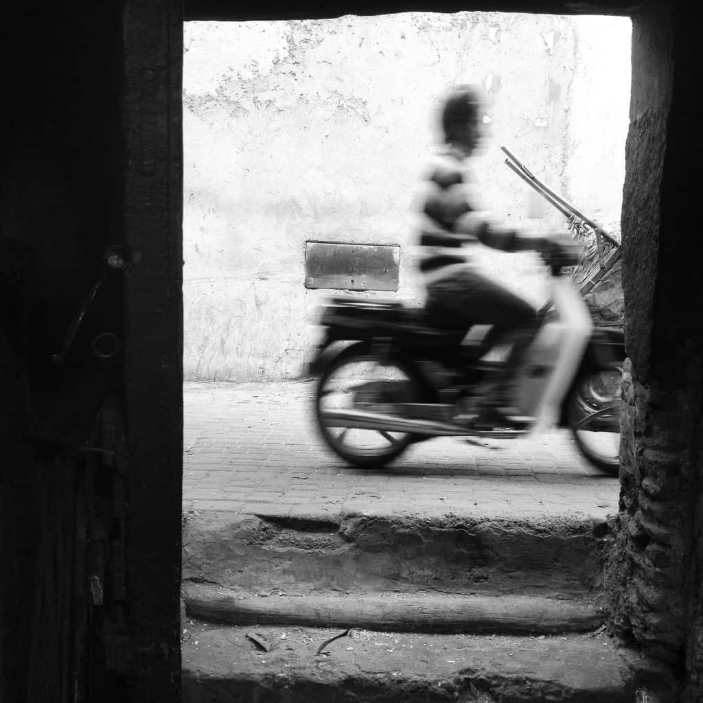 Humans of Marrakech: The Bike Rider