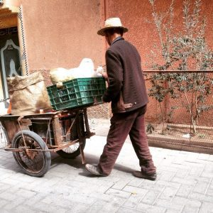 Humans of Marrakech: Pushcart Men