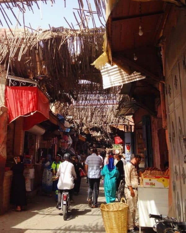 A Street in Marrakech: Is Morocco Safe?