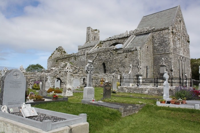 Old Church in Ireland
