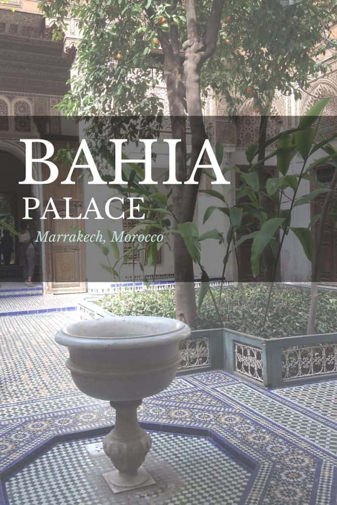 Bahia Palace Marrakech
