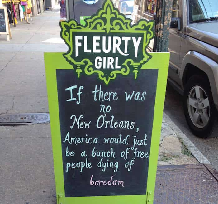 If there was no New Orleans