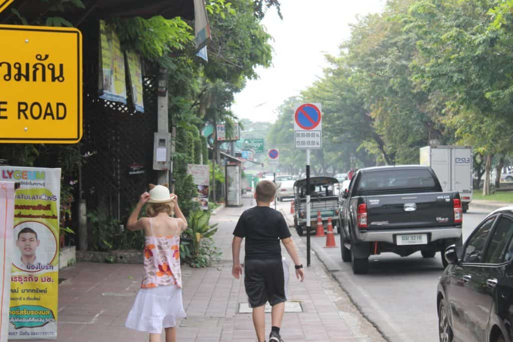 Kids vacation in Chiang Mai