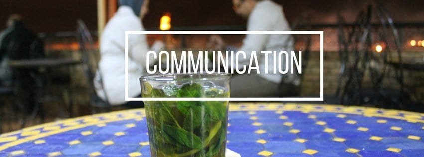 Communication in Morocco