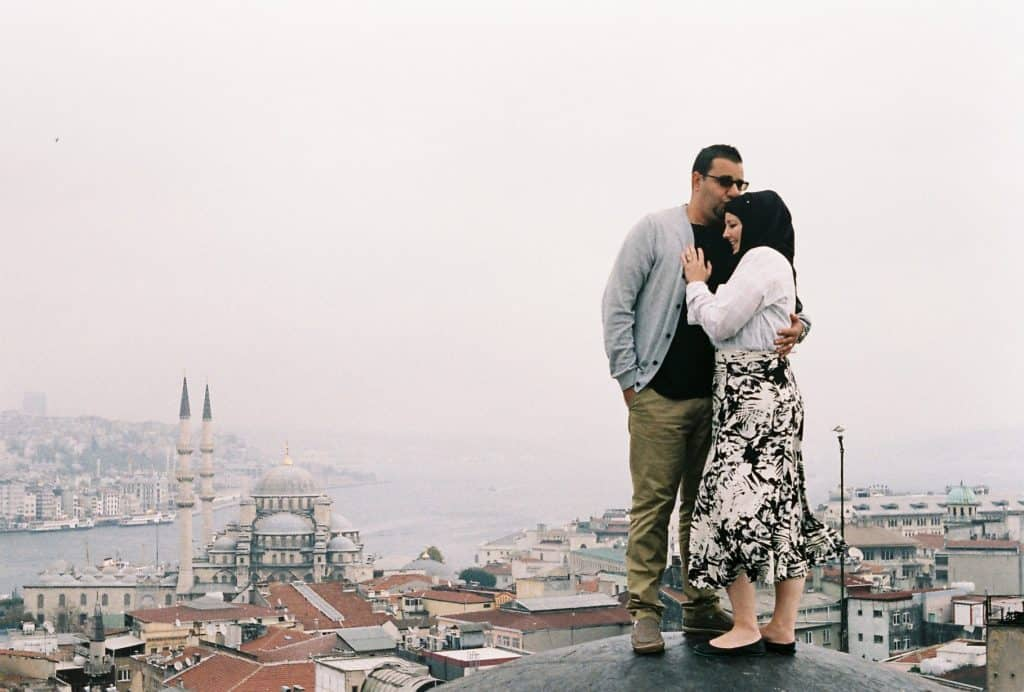 Amanda and Youssef in Istanbul