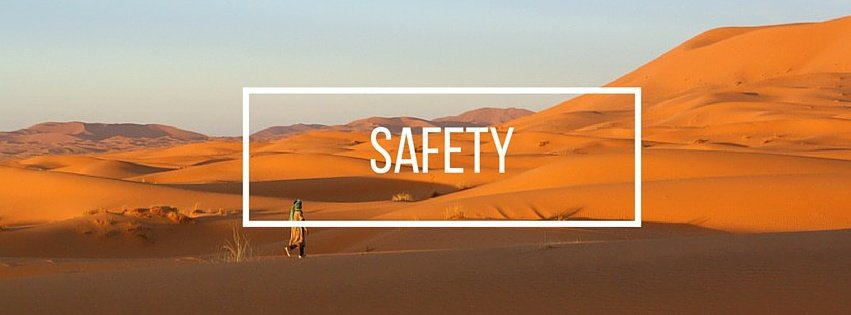 Safety in Morocco