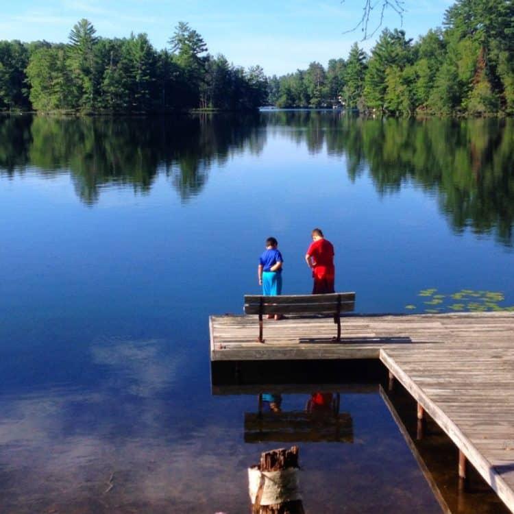 Lake in Northern Michigan