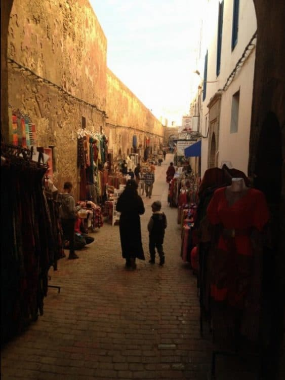 Alley way in Essaouira