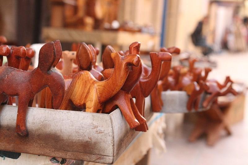Wooden Camels Essaouira