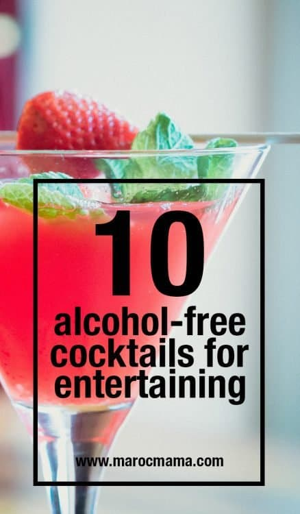 Looking for alcohol-free cocktails for your next party or celebration? Here are 10 fun and festive beverages to choose from.