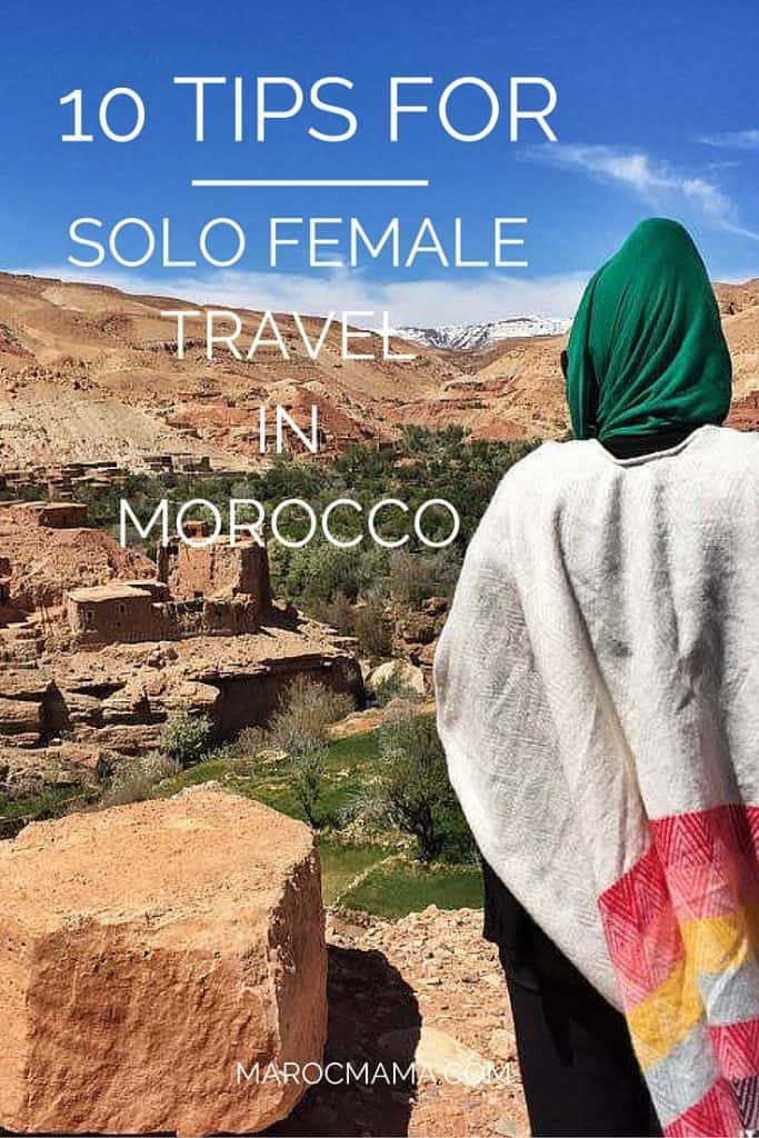 travelling morocco solo female