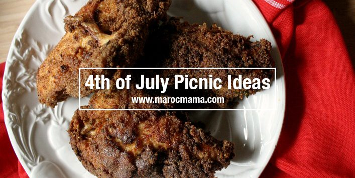 4th of July Picnic Ideas Header
