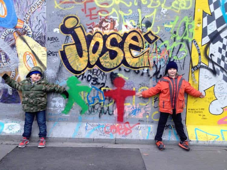 Berlin Wall with Kids