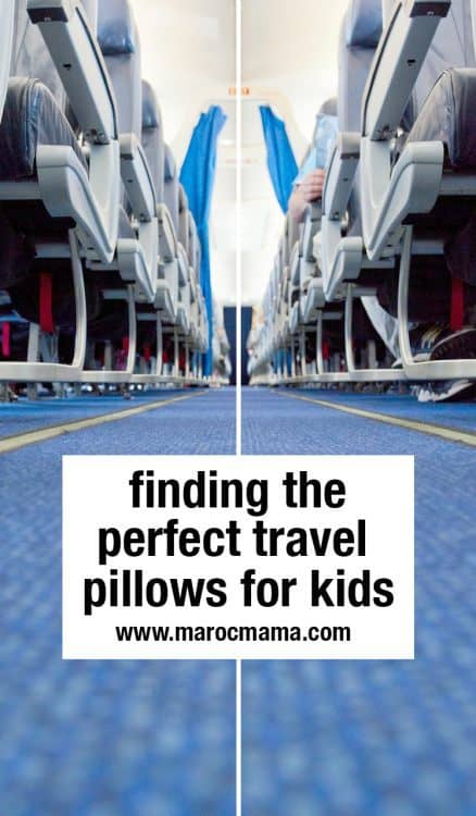 Finding the Perfect Travel Pillow for Kids