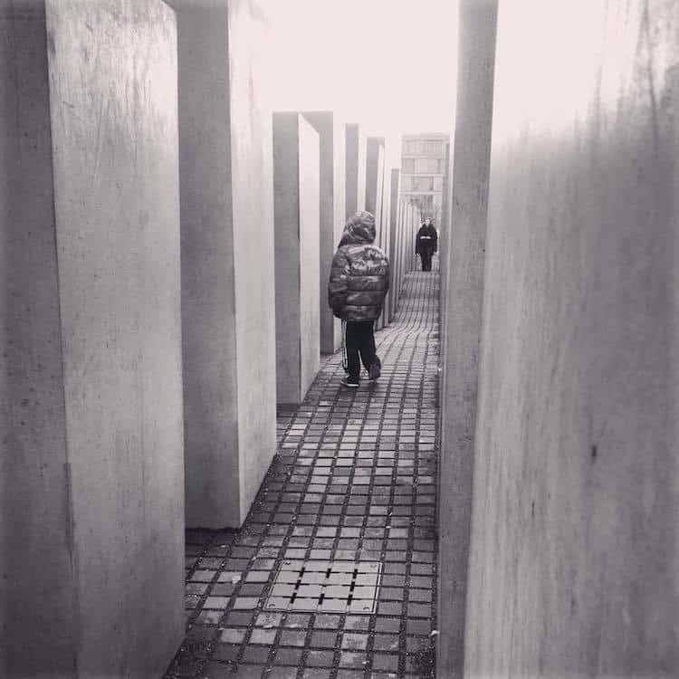 Holcaust Memorial in Berlin