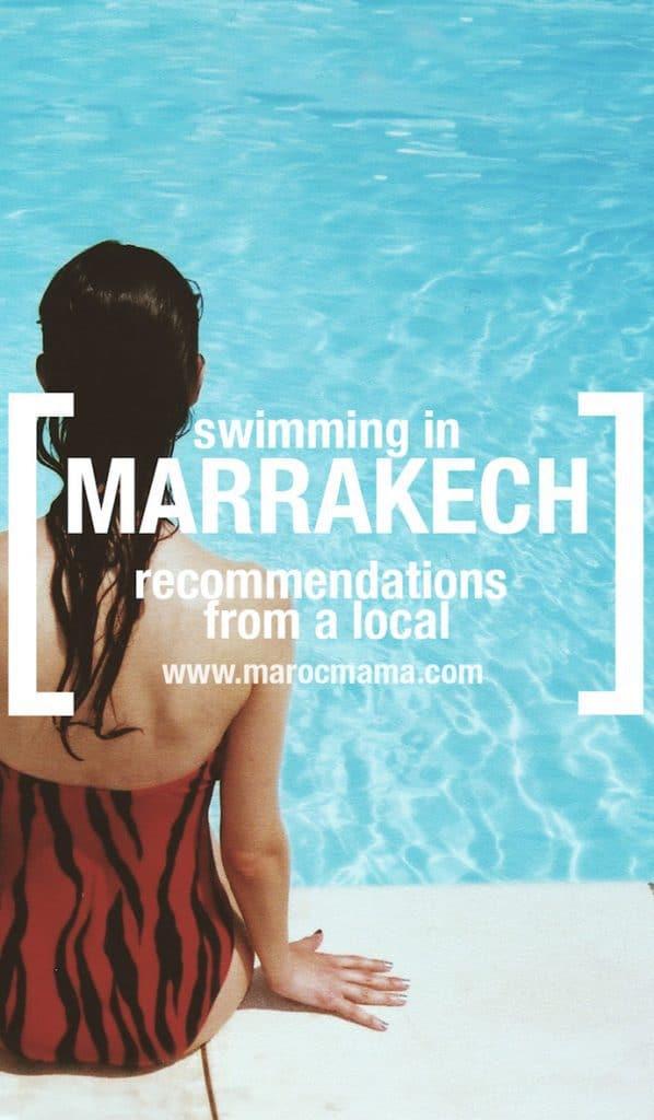 Swimming in Marrakech.1