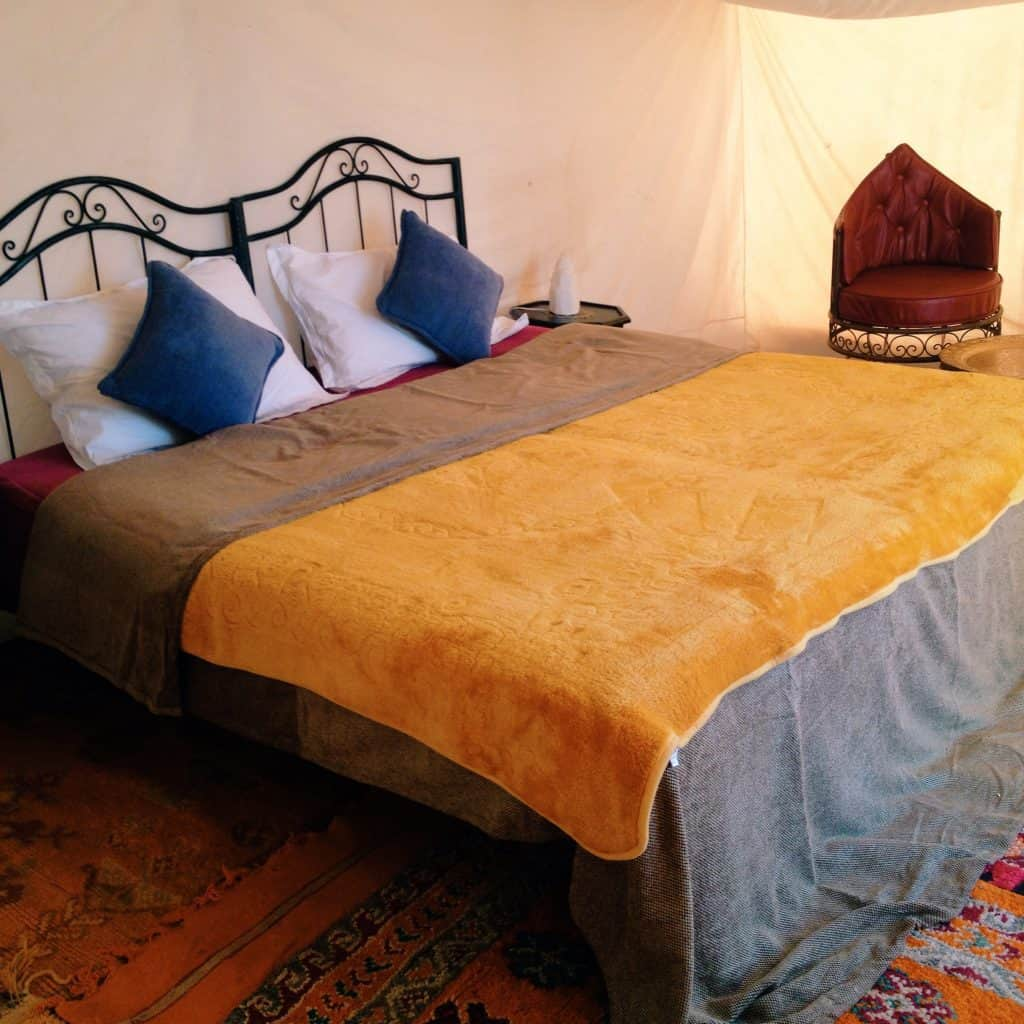 Sleeping in a Luxury Sahara Tent