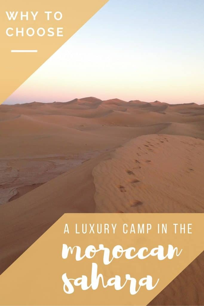 Why Luxury Camping in the Sahara is the Only Way To Visit