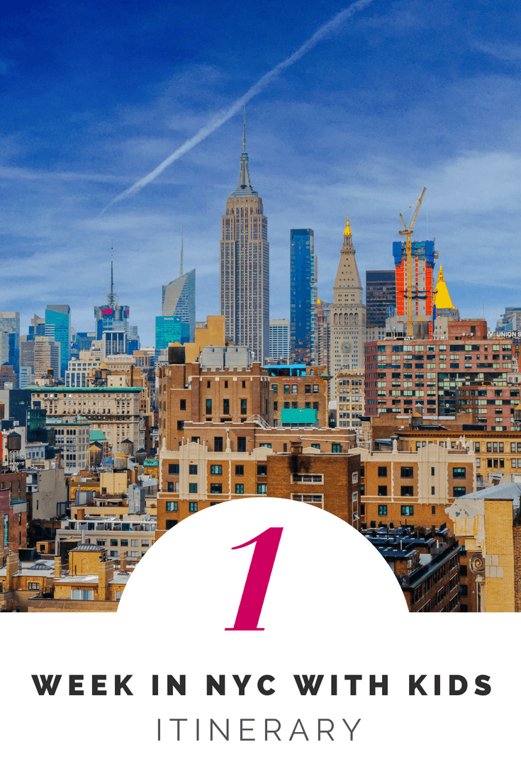 1 week in NYC