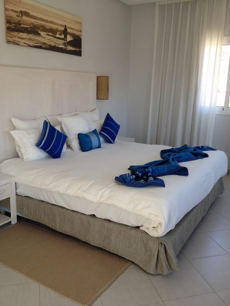 Bedroom at Paradis Plage
