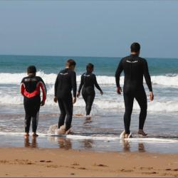 Moroccan Atlantic Ocean Surfing