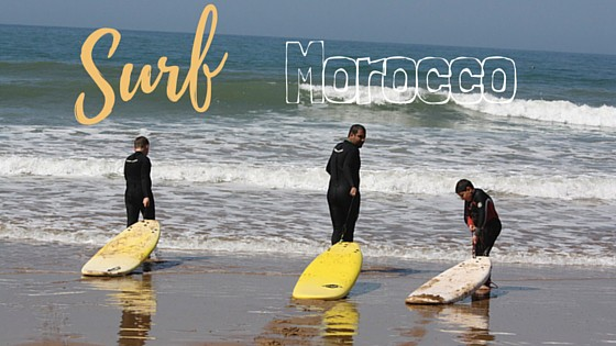 Learning How to Surf in Morocco