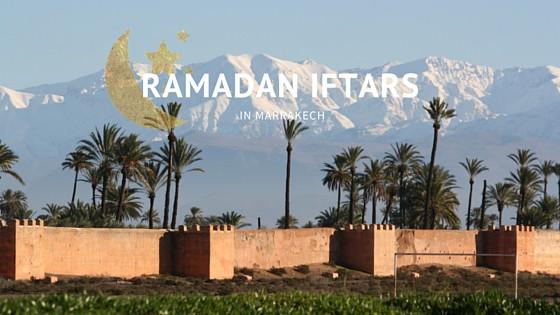 Ramadan Iftar Meals in Marrakech 2017