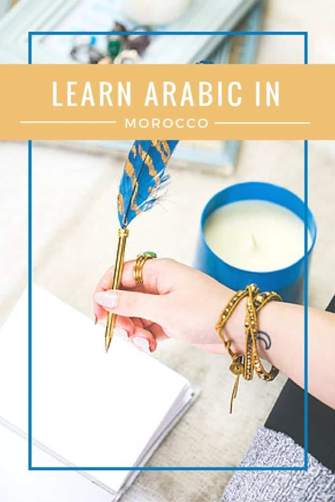 A Guide to Learn Arabic in Morocco