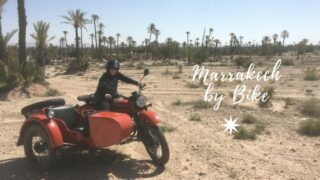 Vintage Sidecar Ride in Marrakech