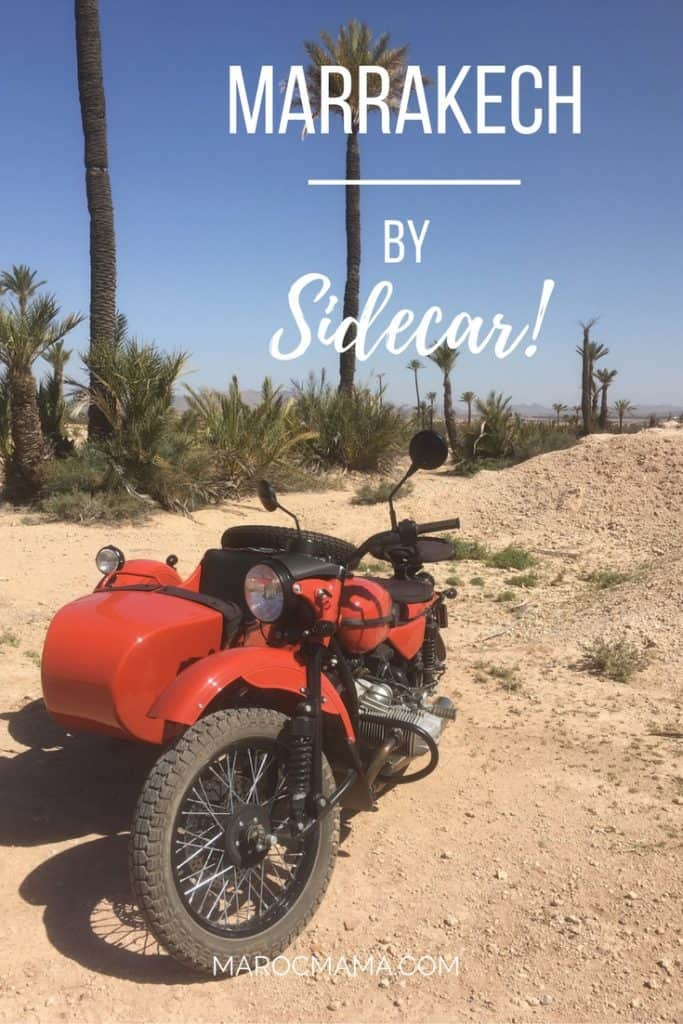 Tour Marrakech by vintage sidecar!