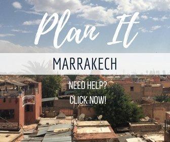 Trip planning Marrakech