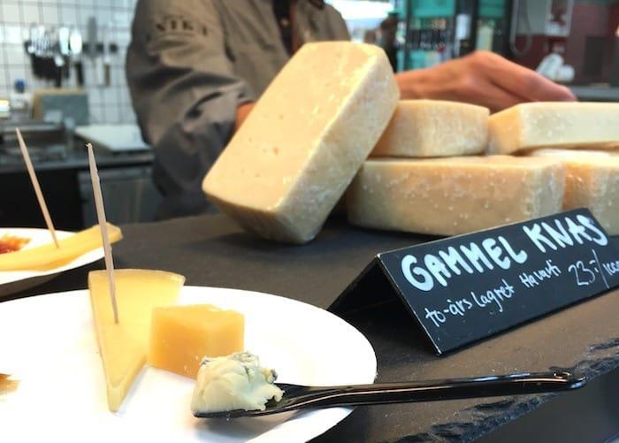 Copenhagen Food Tour Cheese Tasting