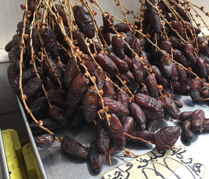 Dates in the Tunis Market