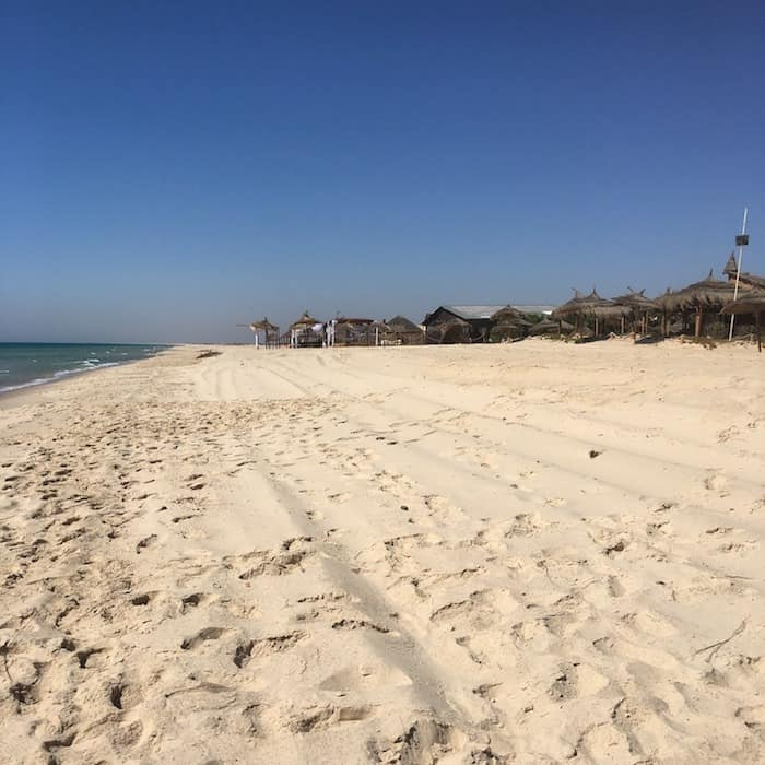Hammamet Tunisia Beach