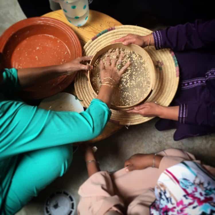 Handmade Moroccan Couscous