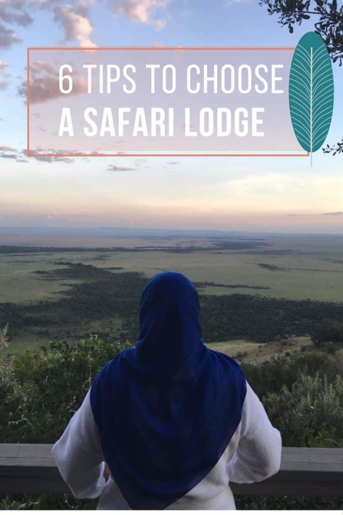 6 Tips to Choose the Right Safari Lodge