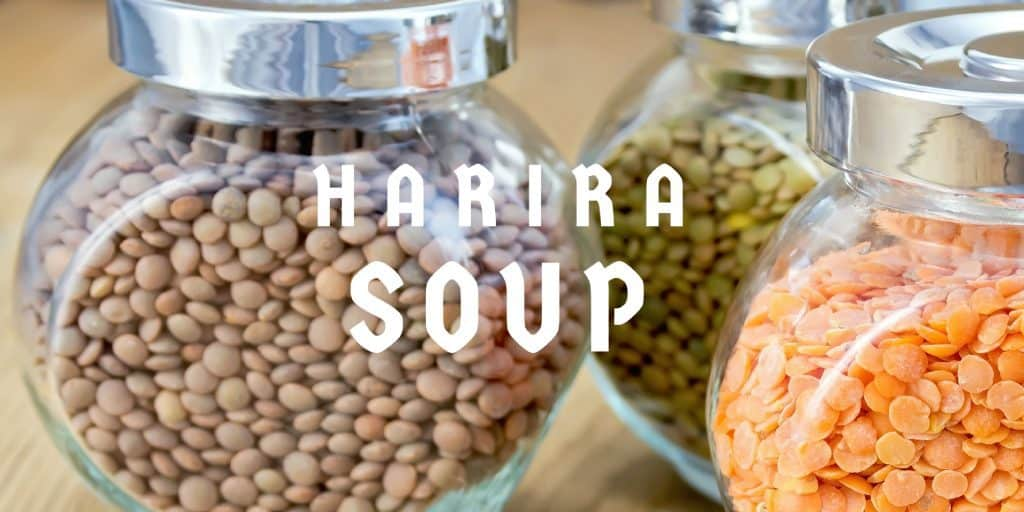 homemade Moroccan food gifts: Harira Dry Soup Mix