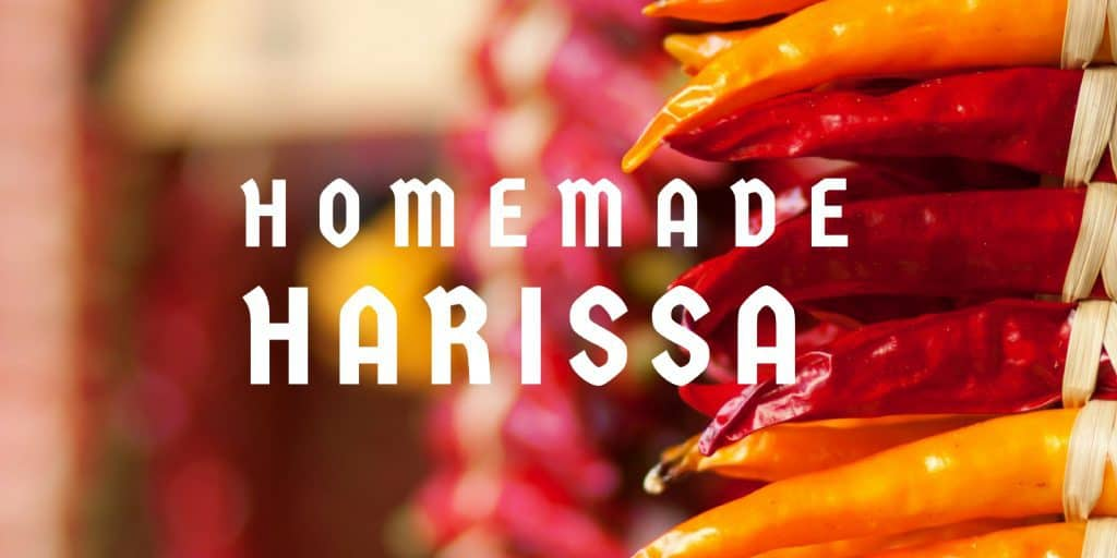 Homemade Moroccan Christmas Gifts: Harissa