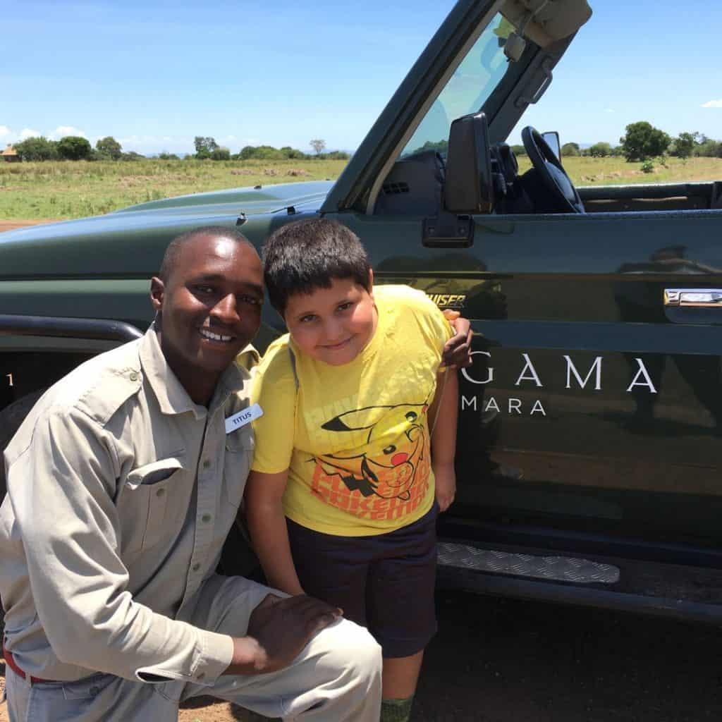 K and Titus Angama Mara