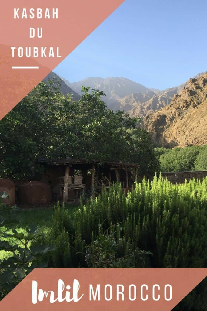 Kasbah du Toubkal in Imlil Morocco. A great escape from the bustle of Marrakech!