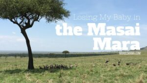 Losing my baby in the Masai Mara