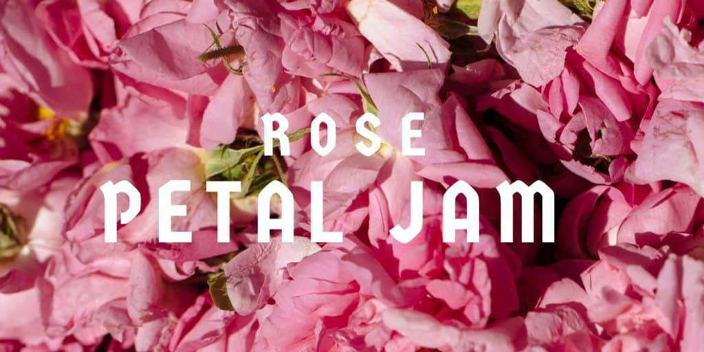 Homemade Moroccan Christmas Gifts: Rose Petal Jam