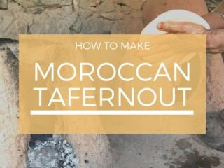 Baking Tafernout in the High Atlas Mountains