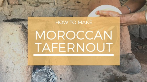 Making Tafernout in Imlil, Morocco with Fadma