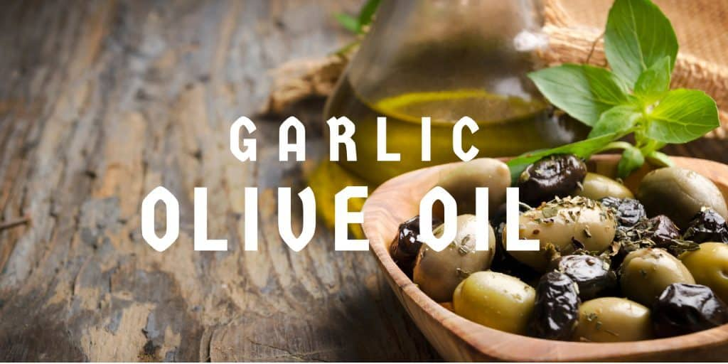 Homemade Moroccan Christmas Gifts: Garlic Infused Olive Oil