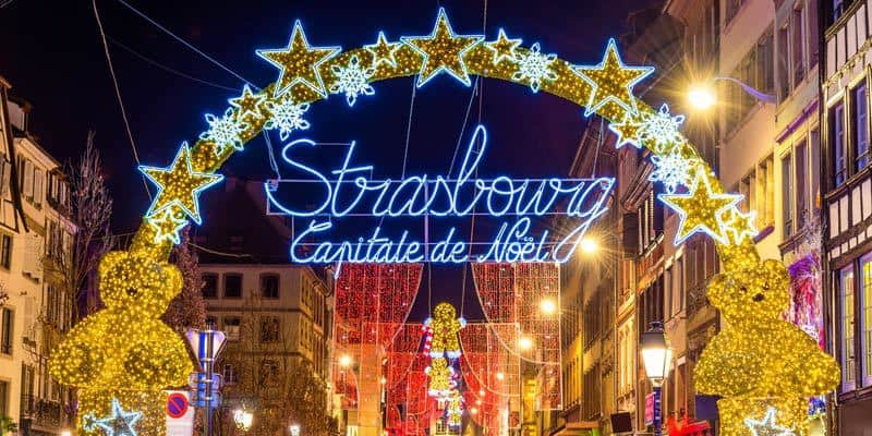 Strasbourg France Capital of Christmas